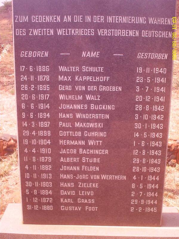 3. Memorial Plaque with list of names