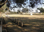 Zambia, Copperbelt, NDOLA district, Kansenji, Military cemetery