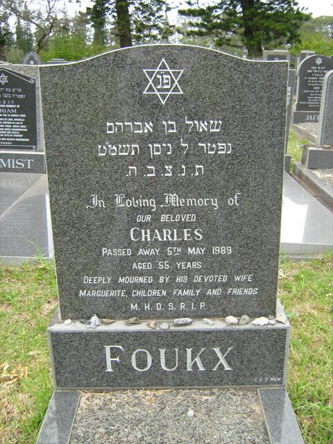 FOUKX Charles -1989
