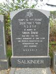 SALKINDER Simon David 1902-1992