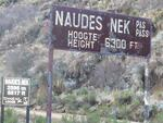 Eastern Cape, BARKLY EAST district, Naude's Nek Pass, Glentilt 112, Naude's Memorial