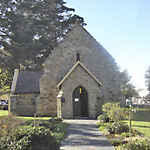 Western Cape, KNYSNA, St George's Anglican Church, church yard