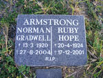 ARMSTRONG Norman Gradwell 1920-2004 & Ruby Hope 1924-2001