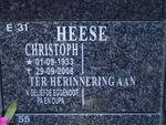 HEESE Christoph 1933-2008