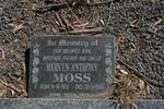 MOSS Mervyn Anthony 1953-1998