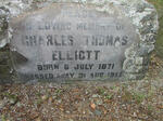 ELLIOTT Charles Thomas 1871-1952