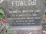 FOWLDS Kenneth Walter 1969-1990