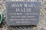 HALSE Joan Mary 1918-2013