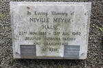 HALSE Neville Meyer 1888-1962 & Gertrude Margaret :: HALSE Donald Neville 1920-1986