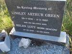 GREEN Linsley Arthur 1910-1997 & Helen Lucy DEACON 1916-2005