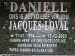 DANIELL Jacques-Loval 1994-2003