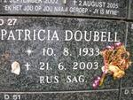 DOUBELL Patricia 1933-2003