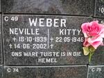 WEBER Neville 1939-2002 & Kitty 1946-