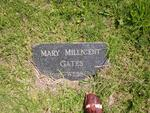 GATES Mary  Millicent nee WEBER
