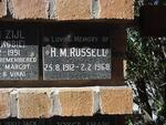 RUSSELL H.M. 1912-1968