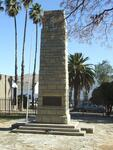1. WAR MEMORIAL IN CRADOCK