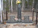 Western Cape, RIVERSDALE district, Albertinia, Farm 365, Bloekom Geur farm, N2 roadside memorial